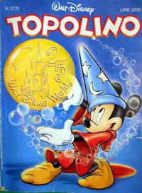 Cover Thumbnail for Topolino (The Walt Disney Company Italia, 1988 series) #2131