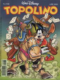 Cover Thumbnail for Topolino (The Walt Disney Company Italia, 1988 series) #2168