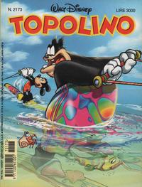 Cover Thumbnail for Topolino (The Walt Disney Company Italia, 1988 series) #2173