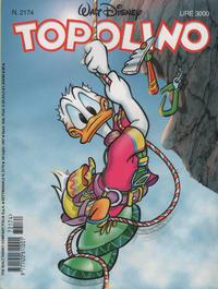 Cover Thumbnail for Topolino (The Walt Disney Company Italia, 1988 series) #2174