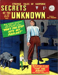 Cover Thumbnail for Secrets of the Unknown (Alan Class, 1962 series) #36