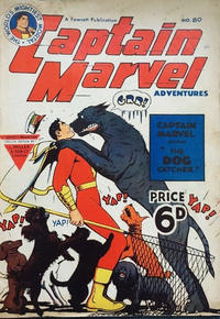 Cover Thumbnail for Captain Marvel Adventures (L. Miller & Son, 1950 series) #80