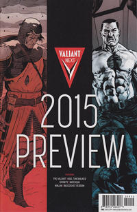 Cover Thumbnail for Valiant Next: 2015 Preview (Valiant Entertainment, 2014 series)