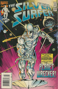Cover Thumbnail for Silver Surfer (Marvel, 1987 series) #104 [Newsstand]