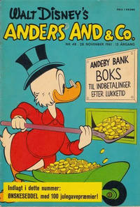 Cover Thumbnail for Anders And & Co. (Egmont, 1949 series) #48/1961