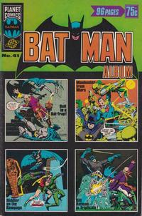 Cover Thumbnail for Batman Album (K. G. Murray, 1976 series) #41