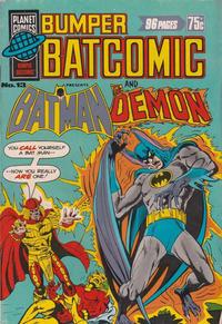 Cover Thumbnail for Bumper Batcomic (K. G. Murray, 1976 series) #13