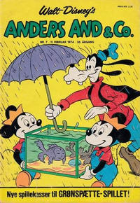 Cover Thumbnail for Anders And & Co. (Egmont, 1949 series) #7/1974