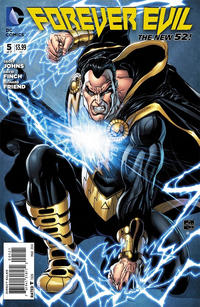 Cover Thumbnail for Forever Evil (DC, 2013 series) #5 [Ethan Van Sciver Black Adam Cover]