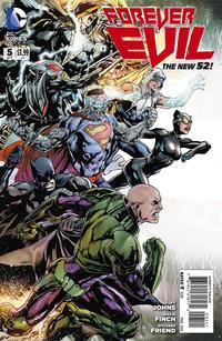 """Cover Thumbnail for Forever Evil (DC, 2013 series) #5 [Ivan Reis / Joe Prado """"Connecting"""" Cover]"""