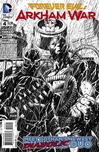Cover Thumbnail for Forever Evil: Arkham War (DC, 2013 series) #4 [Jason Fabok Black & White Cover]