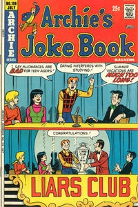 Cover Thumbnail for Archie's Joke Book Magazine (Archie, 1953 series) #198
