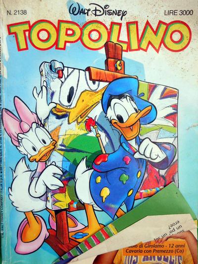 Cover for Topolino (Disney Italia, 1988 series) #2138