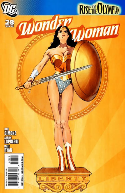 Cover for Wonder Woman (DC, 2006 series) #28