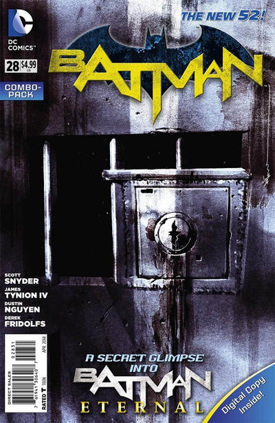 Cover for Batman (DC, 2011 series) #28 [Howard Chaykin Steampunk Cover]