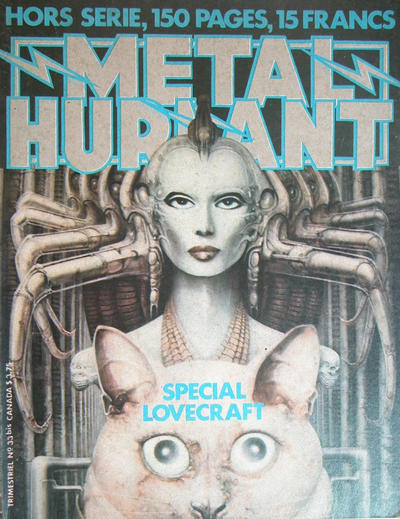 Cover for Métal Hurlant (Les Humanoïdes Associés, 1975 series) #33 bis