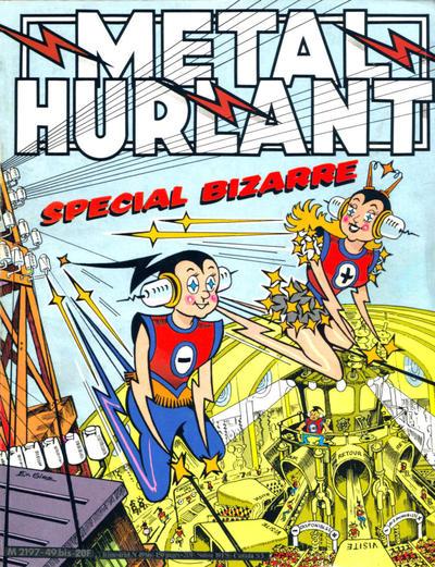 Cover for Métal Hurlant (Les Humanoïdes Associés, 1975 series) #49 bis