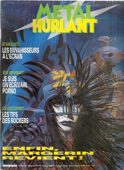 Cover for Métal Hurlant (Les Humanoïdes Associés, 1975 series) #123
