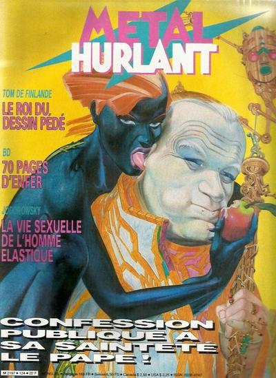 Cover for Métal Hurlant (Les Humanoïdes Associés, 1975 series) #124