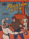 Cover for The Phantom (Feature Productions, 1949 series) #54