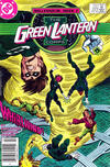 Cover Thumbnail for The Green Lantern Corps (1986 series) #221 [Newsstand Edition]