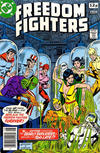 Cover for Freedom Fighters (DC, 1976 series) #15 [British Price Variant]