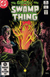 Cover Thumbnail for The Saga of Swamp Thing (1982 series) #9 [Direct]