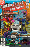 Cover for Captain Carrot and His Amazing Zoo Crew! (DC, 1982 series) #6 [Direct Edition]