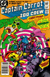 Cover Thumbnail for Captain Carrot and His Amazing Zoo Crew! (1982 series) #20 [Newsstand]