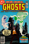 Cover for Ghosts (DC, 1971 series) #98 [Newsstand]
