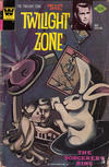 Cover for The Twilight Zone (Western, 1962 series) #74 [Whitman]
