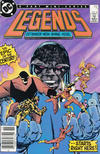 Cover for Legends (DC, 1986 series) #1 [Newsstand]