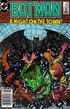Cover for Batman (DC, 1940 series) #392 [Newsstand]