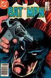 Cover Thumbnail for Batman (1940 series) #395 [Newsstand]