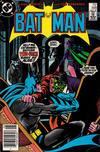 Cover Thumbnail for Batman (1940 series) #398 [Newsstand]
