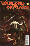 Cover Thumbnail for Warlord of Mars (2010 series) #31 [Cover B Lucio Parrillo]