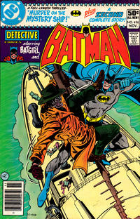 Cover for Detective Comics (DC, 1937 series) #496 [Direct Edition]
