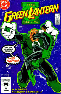 Cover Thumbnail for The Green Lantern Corps (DC, 1986 series) #219 [Direct Edition]
