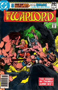 Cover for Warlord (DC, 1976 series) #38 [direct]