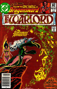 Cover for Warlord (DC, 1976 series) #53 [Direct Sales]