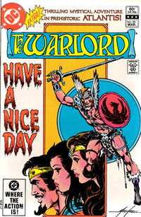 Cover Thumbnail for Warlord (DC, 1976 series) #55 [Direct Edition]