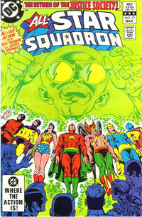 Cover Thumbnail for All-Star Squadron (DC, 1981 series) #19 [Direct-Sales]