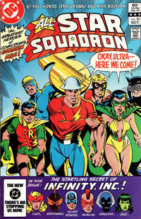 Cover for All-Star Squadron (DC, 1981 series) #26 [Direct-Sales]