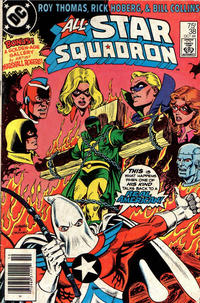 Cover for All-Star Squadron (DC, 1981 series) #38 [Direct Edition]