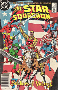Cover Thumbnail for All-Star Squadron (DC, 1981 series) #29 [Newsstand]