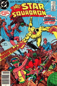 Cover Thumbnail for All-Star Squadron (DC, 1981 series) #33 [Newsstand]
