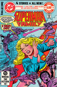 Cover Thumbnail for The Superman Family (DC, 1974 series) #222 [Direct]