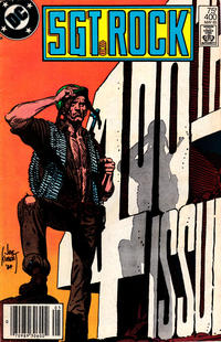 Cover Thumbnail for Sgt. Rock (DC, 1977 series) #400 [Newsstand]