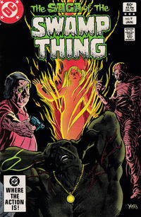 Cover Thumbnail for The Saga of Swamp Thing (DC, 1982 series) #9 [Direct Sales]