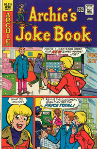 Cover Thumbnail for Archie's Joke Book Magazine (Archie, 1953 series) #219
